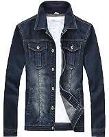 XueYin® Men's Denim Jacket Slim Fit