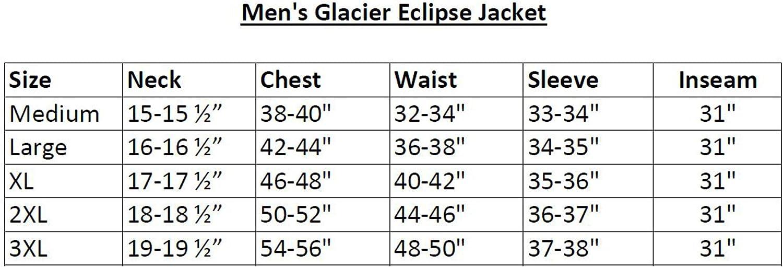 Orange ArcticShield Mens Glacier Eclipse Cold Weather Jacket