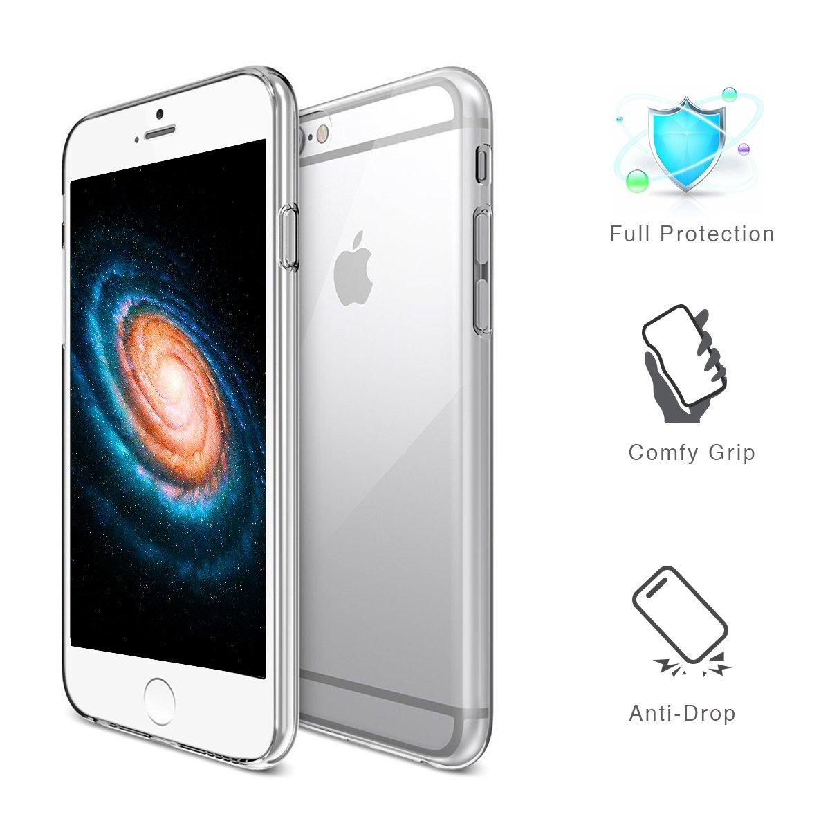 Handy-zubehör Handys & Kommunikation Fast Deliver Mumbi Schutzhülle Für Apple Iphone 6 6s Plus Hülle Case Cover Grip Tasche Schutz