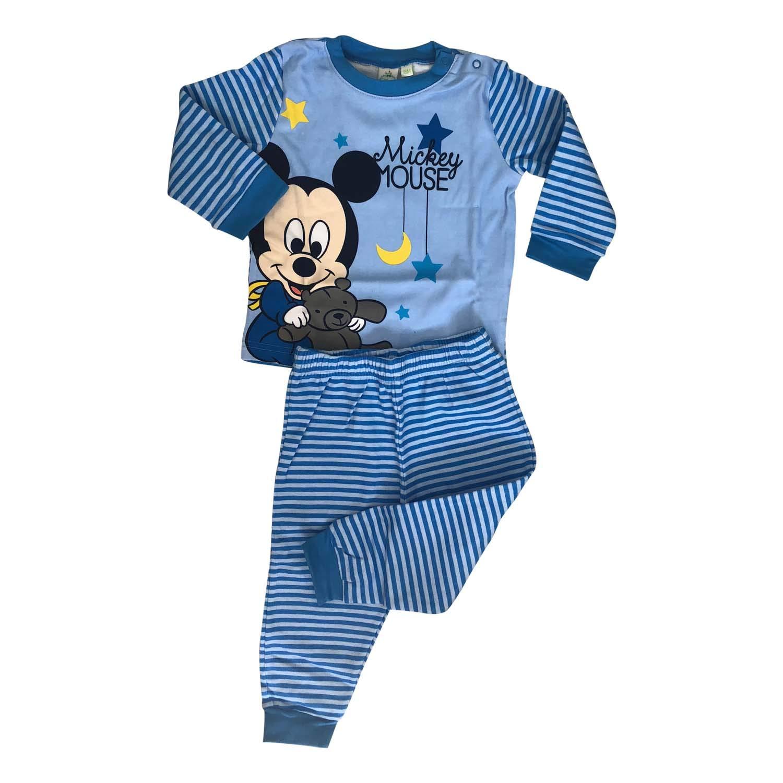 0e38b5bfc7f8 Amazon.com  Disney Mickey Mouse 2 Pieces Infant Newborn Boys Pajama ...