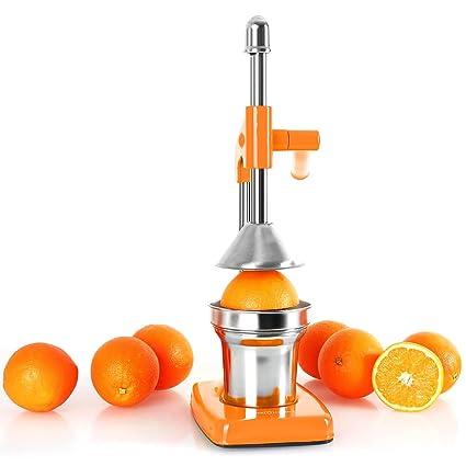 OneConcept Exprimidor de naranjas Naranja