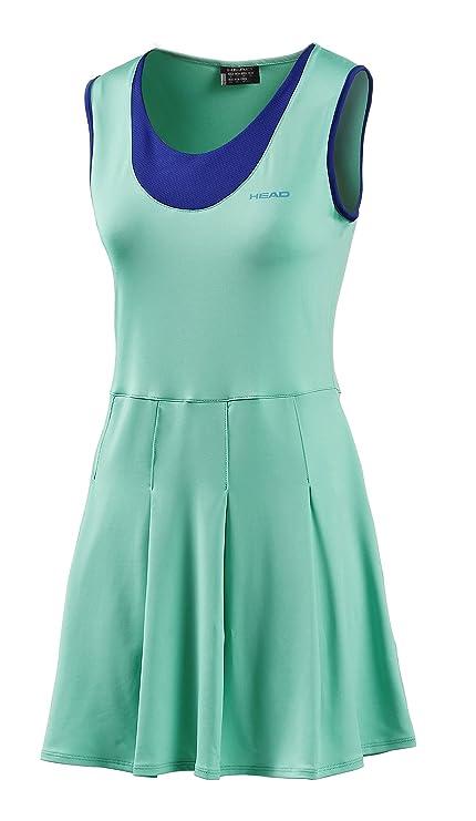 Head - Vestido pádel dual, talla s, color azul / verde