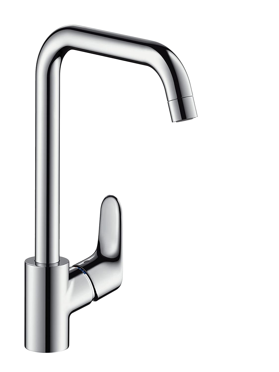 hansgrohe Focus kitchen tap 260 with selectable swivel range, chrome ...