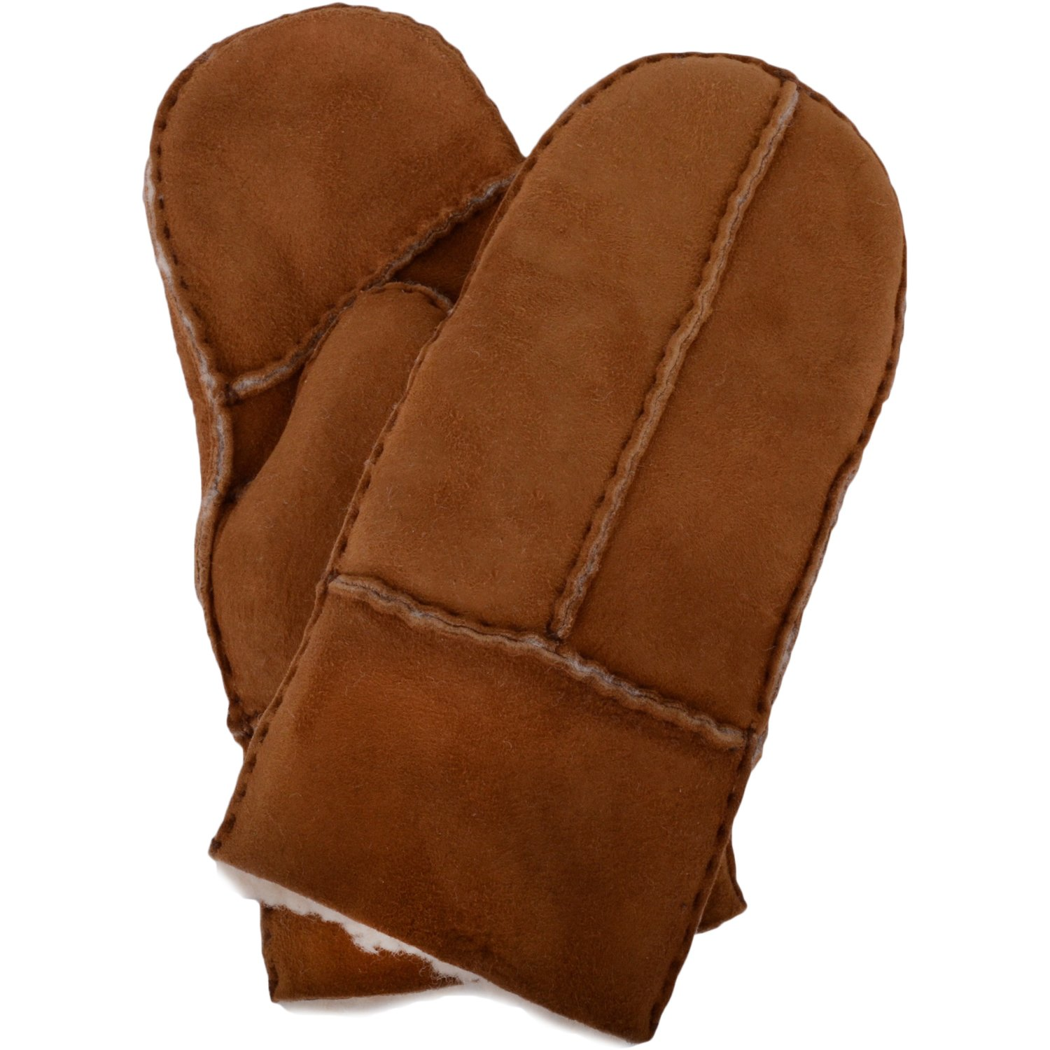 SNUGRUGS Childrens 100% Genuine Soft Sheepskin Mittens/Gloves with Thumb
