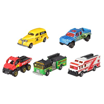 Matchbox 5-Pack 1:64 [Styles May Vary]: Toys & Games