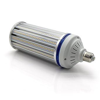 Mininono Bombillas LED E27 80W con 7000LM, 400LEDs LED Lámpara de Maíz Blanco cálido 3000K, Reemplazo de 700W Bombilla Hálogena para ...