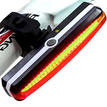 511d84f56da FREEMASTER USB Rear Bike Lights Rechargeable LED Waterproof Cycling Lights  Cycle Bike Tail lights Set -120 Lumen£¨Red£  Amazon.ca  Sports   Outdoors