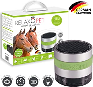 RelaxoPet for Horses | The Ultimate Relaxation Trainer for All Horses | Calming, Anxiety Relief, Farrier, Vet, Stable Rest, Calming for Competition | Wireless | Audible and Inaudible
