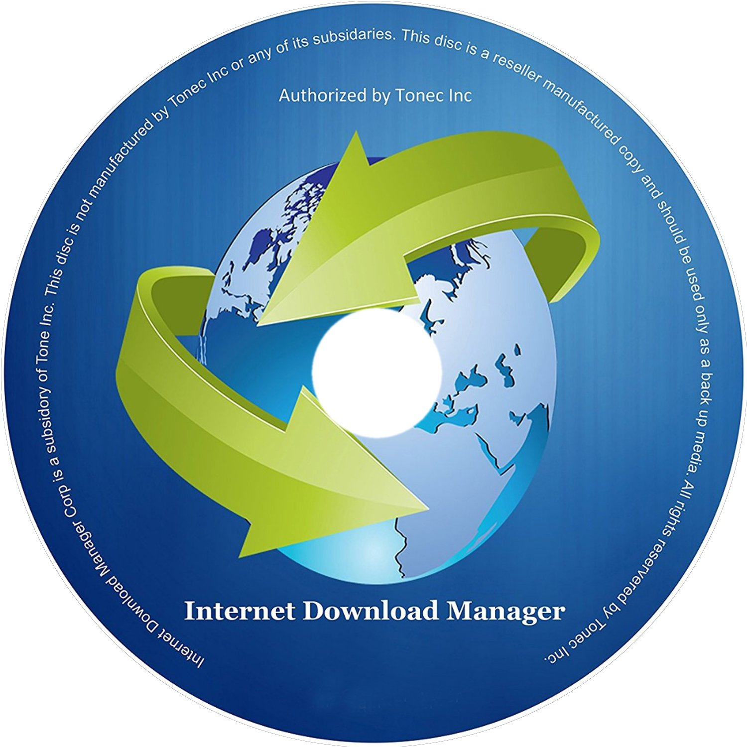 Internet Download Manager 1 PC Life Time License (CD)