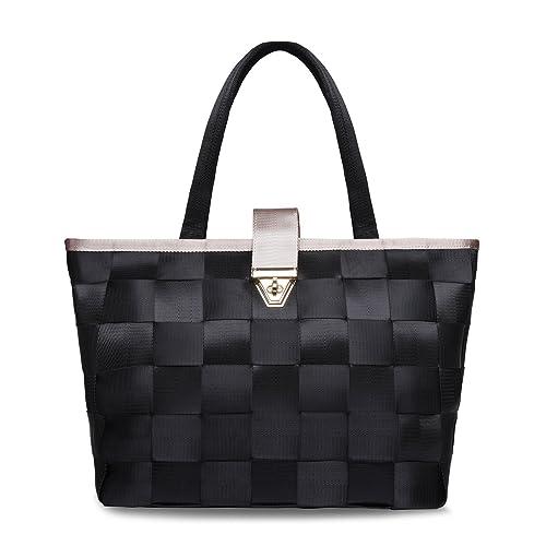 Amazon.com  Womens Purses and Handbags Ladies Designer Satchel Tote Bag  Shoulder Bag (Black)  Shoes ebfb94ebd9722