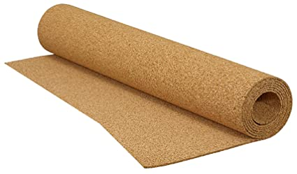 QEP Sq Ft In X Ft X In Cork Underlayment Roll - Ceramic tile soundproof underlayment