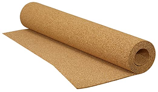 QEP 200 sq. ft. 48 in. x 50 ft. x 1/8 in. Cork Underlayment ...