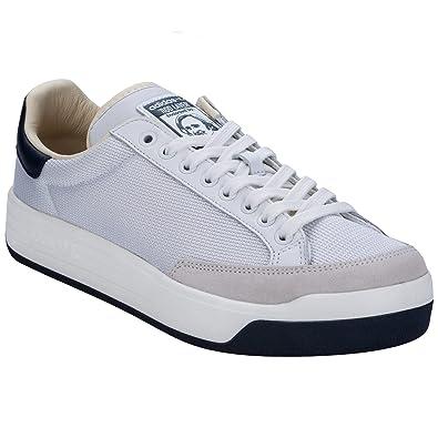 ae0a282955ff adidas Mens Originals Mens Rod Laver Super Trainers in White - UK 9 ...