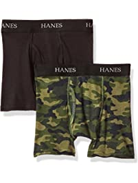 Hanes Big Boy's Ultimate ComfortFlex 2 Pack Boxer Brief