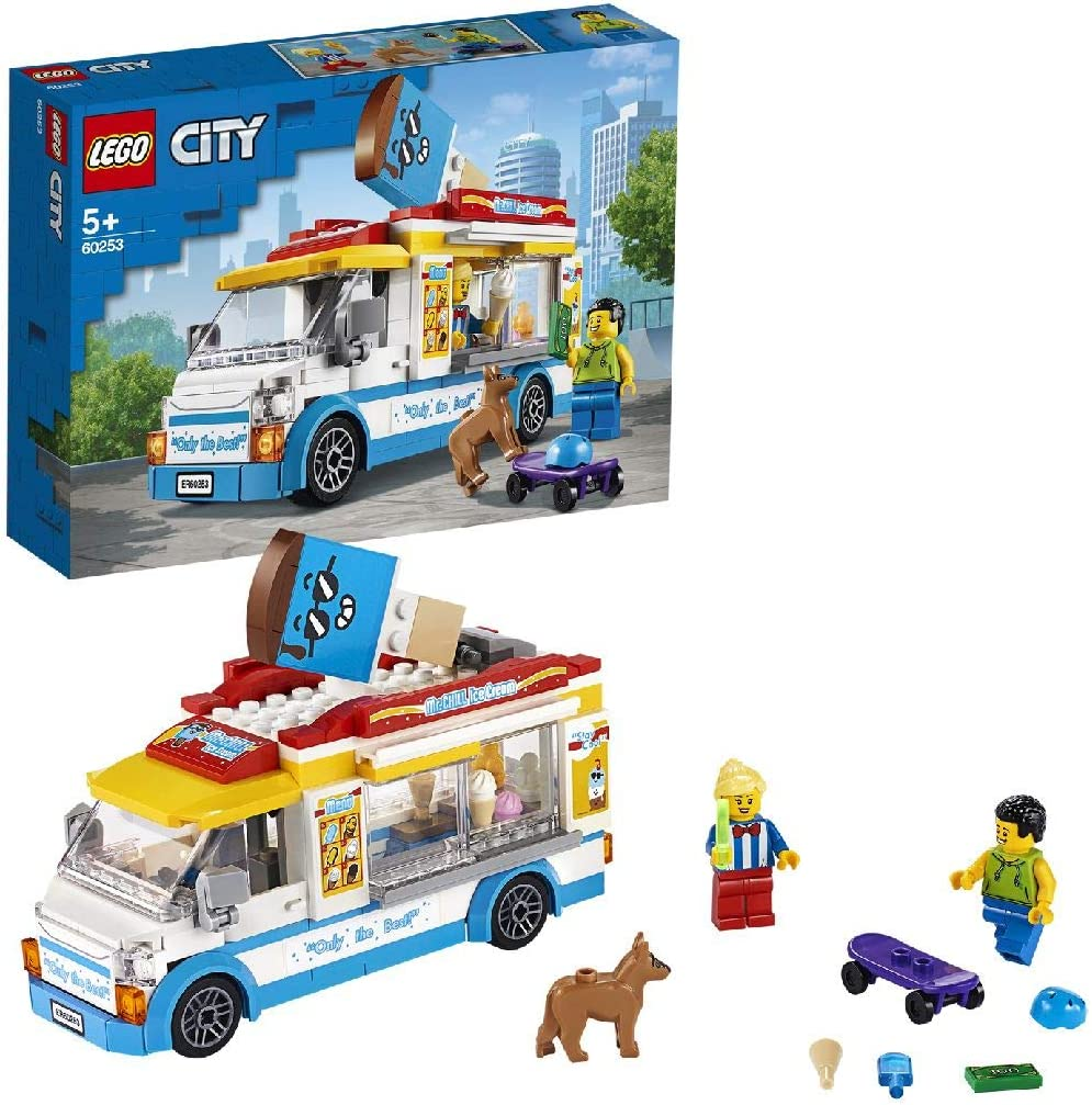 LEGO ® City 60253 MARCHAND DE GLACES /& NOUVEAU /& NEUF dans sa boîte!