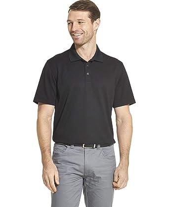 Van Heusen Mens Air Performance Ottoman Polo Shirt: Amazon.es ...