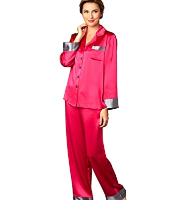 81b3b4bcf3 Julianna Rae Women s 100% Silk Pajamas