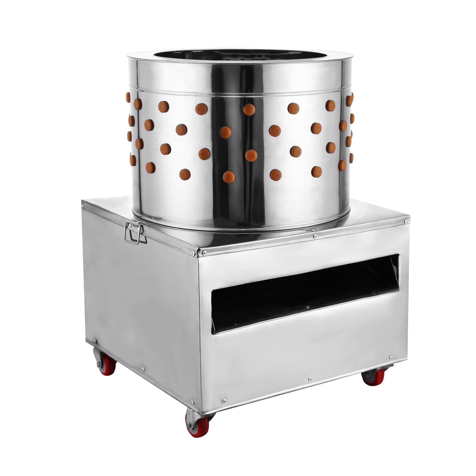 BestEquip Chicken Plucker Machine 2200W Large Pro Poultry Plucker 23.5Inch Barrel Diameter Feather Removal Quail Plucker for Quail and Chicken by BestEquip