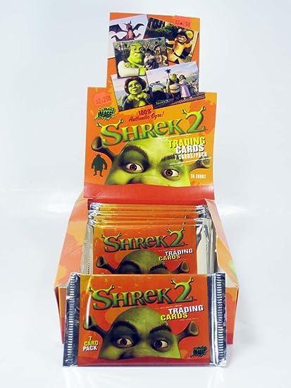Amazon Com Shrek 2 Trading Cards 5 Pack Lot Toys Games