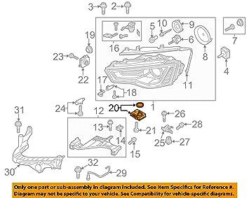 8k0941 597e Engine Control Module Ecm For A Audi A5 S5 2012