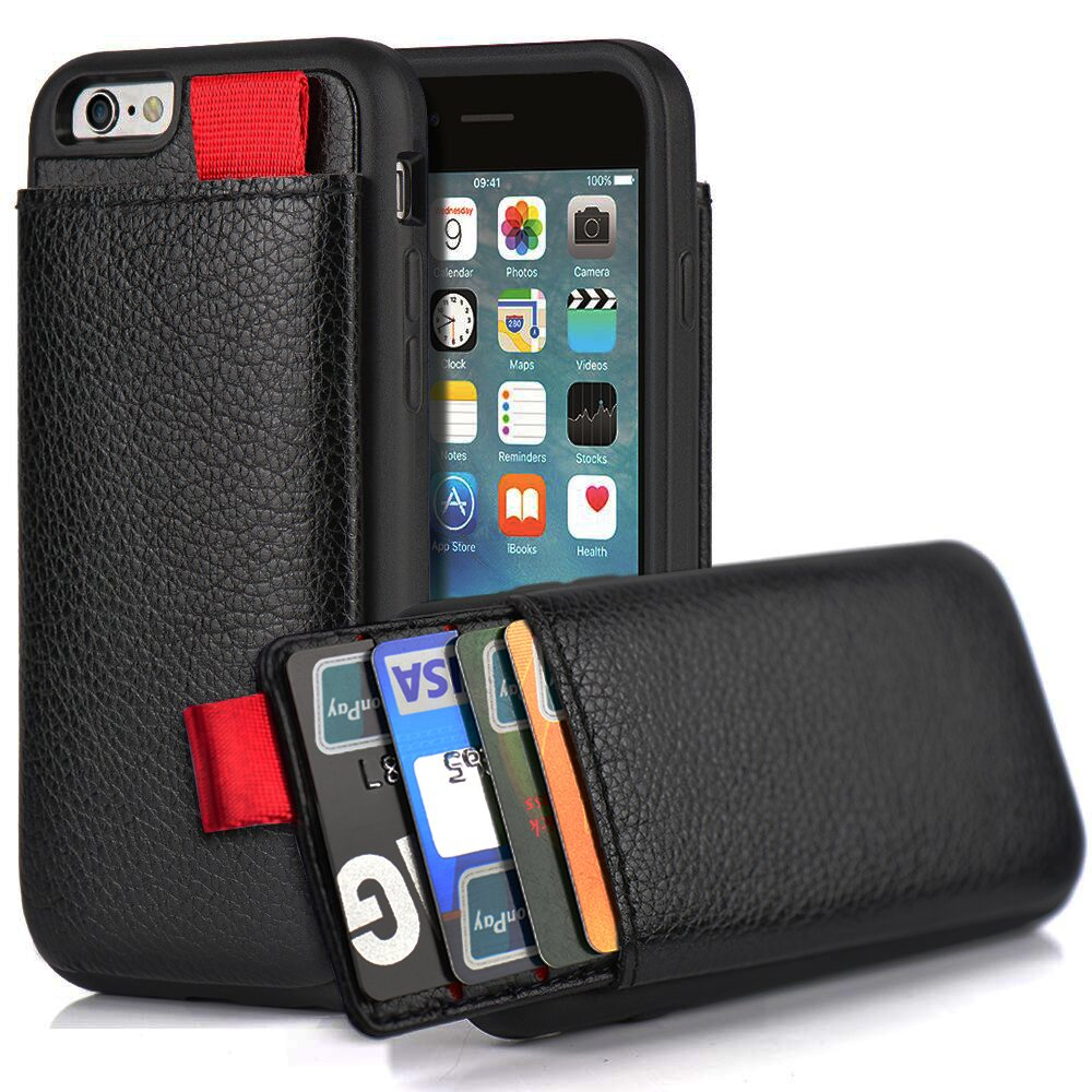 wallet for iphone 6 plus iphone 6 plus 6s wallet lameeku shockproof leather 18167
