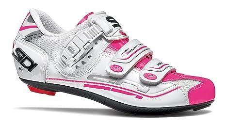 7 scarpe 38 Sidi da bici Unisex donna Genius biancorosa corsa ZqnwApBa