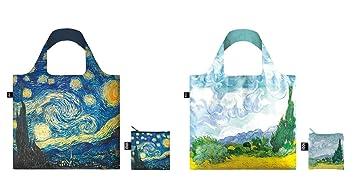 Loqi bolsas reutilizables bolsas de la compra, Set de 2, Van ...