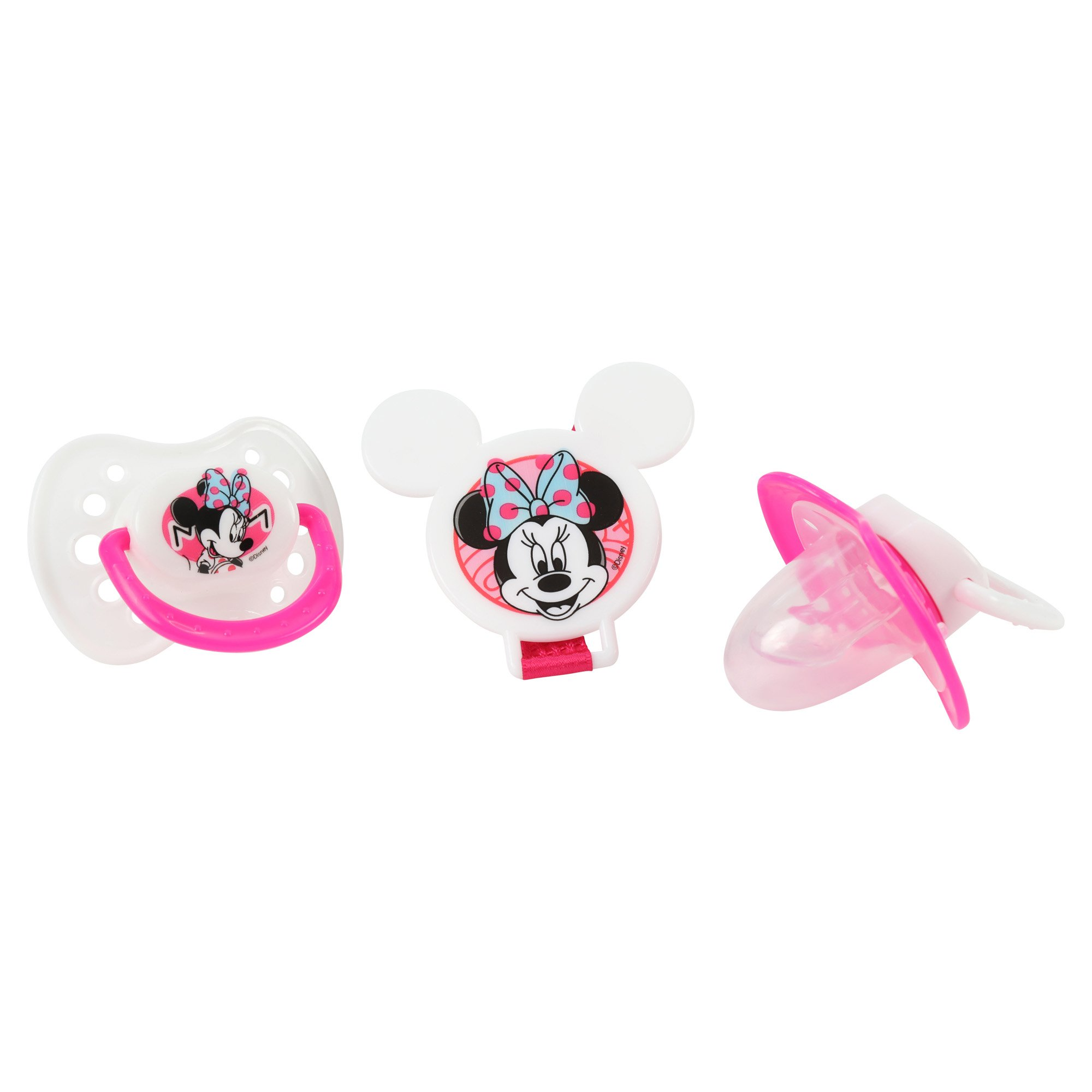 Pacifiers & Soothers Baby Nice Baby Boy Disney Mickey Mouse Orthodontic Pacifier With Cover Bpa Free Pink