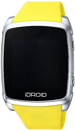 Amazon.com: iDroid SmartWatch para Android, Color Amarillo