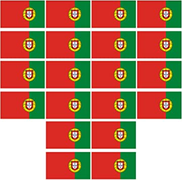 Winthai 20 Piezas Portugal Bandera Portuguesa Tatuaje Temporal calcomanía Cara Arte Corporal Pegatinas para Brazos Cuello Agua Transferencia Pegatinas Euro Copa Fiesta favores: Amazon.es: Juguetes y juegos