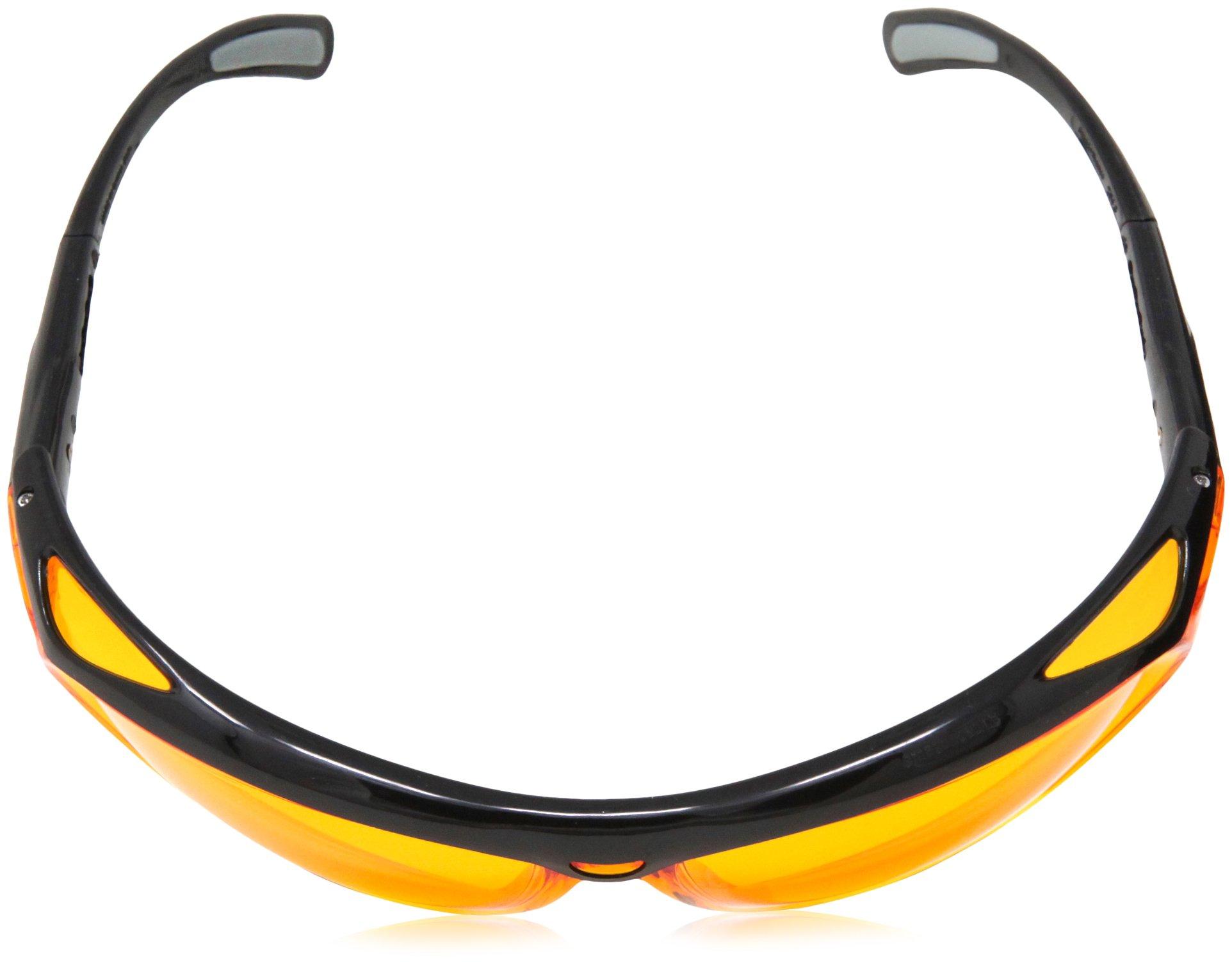 AmazonBasics Blue Light Blocking Safety Glasses, Anti-Fog, Orange Lens, 12-Count by AmazonBasics (Image #8)