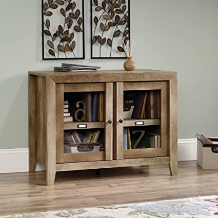 Amazon.com: Sauder 418268 TV Stands, Furniture Dakota Pass Craftsman ...