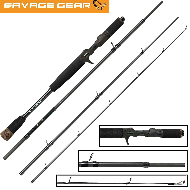 Savage Gear XLNT 3 Roadrunner Trigger 2,13m 20-70g Spinnrute zum Spinnfischen auf Hechte /& Zander Hechtrute Reiserute Angelrute