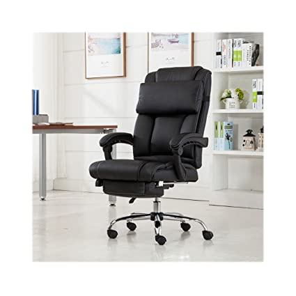 Amazon Com Reclining Leather Ergonomic High Back Executive Office
