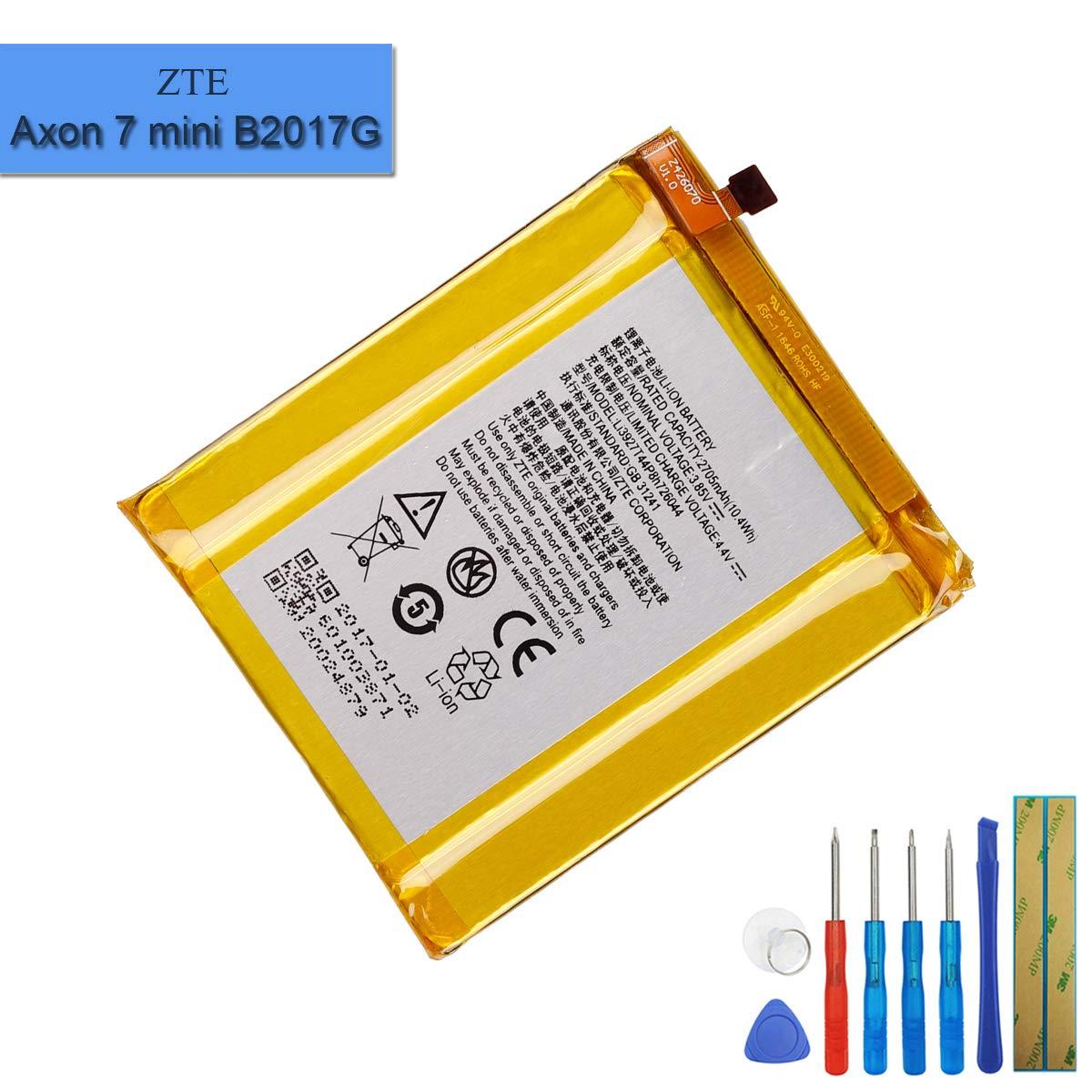 Bateria : Zte Li3927t44p8h726044 Model Zte Axon 7 Mini