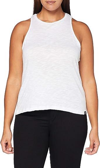 Superdry OL Essential Tank Camiseta sin Mangas para Mujer
