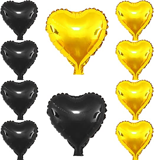 28 Inch Colored Foil Balloons Crescent Moon Shape Wedding Birthday Party Décor