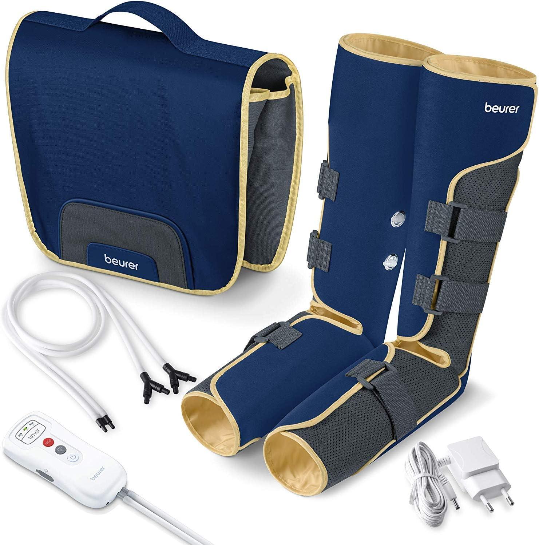 Beurer FM150 Botas Presoterapia por Masaje de uso doméstico, masaje de presión por aire
