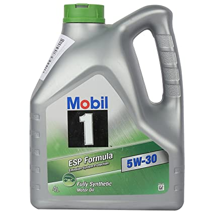 Mobil 1 ESP 5W-30 API SM/SN Fully Synthetic Motor Oil for Cars (4 L)
