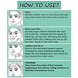 Updated 2019 Version Rose Quartz Roller Jade Roller for Face 100% Natural Jade Skincare Massage Gua sha Scraper Premium Authentic Jade Anti Aging Wrinkle Massage for Face, Eye, Neck Best Gift