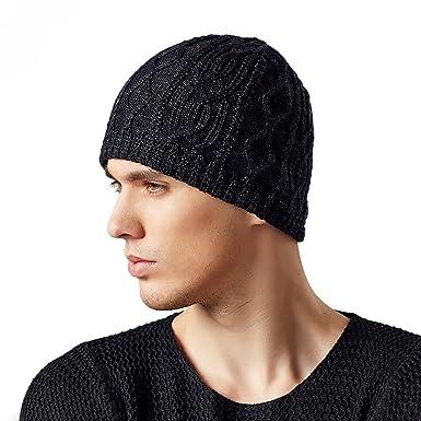 178797221b3 Kenmont Men s Acrylic Knit Hat Skull Watch Beanie Cap Outdoor Snow Ski Sports  Hats for Autumn