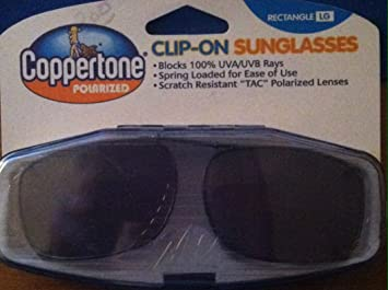 Coppertone polarized lenses