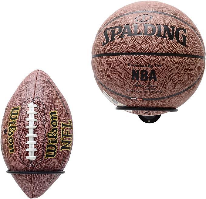 Rugby ForeWan Support de Ballon de Basket-Ball Support Mural en Plastique pour Ballon de Basket-Ball Football Football