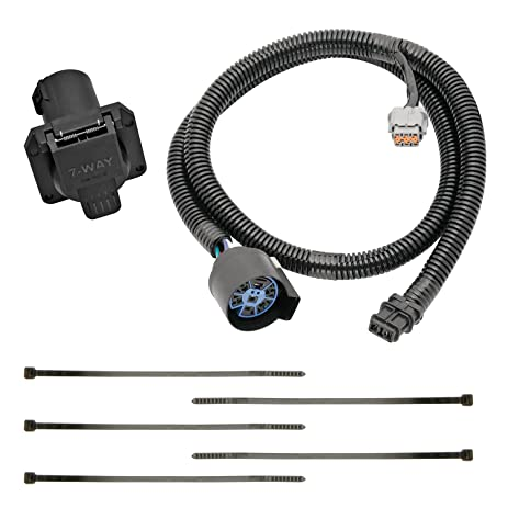 amazon com tekonsha 118267 7 way tow harness wiring package 110 Volt Wiring Diagram tow package wiring 118241 diagram images