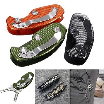 Camtoa - Llavero plegable con clip de enganche (ligero, 3 ...