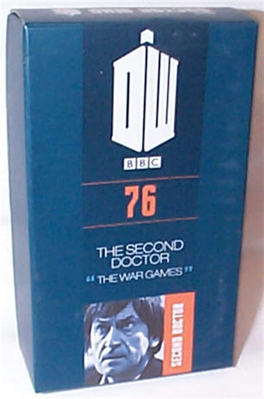 Eaglemoss Doctor Who Nummer 76 Abbildung Zweite Doktor War Games 10cm 1//21 Modell DieCast Second Doktor