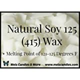 Candlewic Natural 415 Soy Wax (3 Pound Bag)