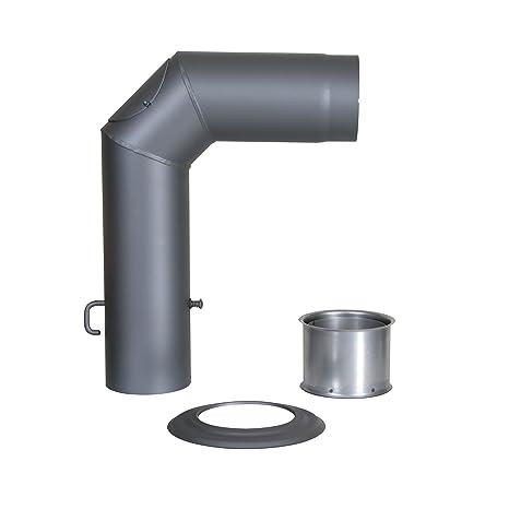 Kamino - Flam – Juego de tubos para chimenea, Set de tubos para estufa de