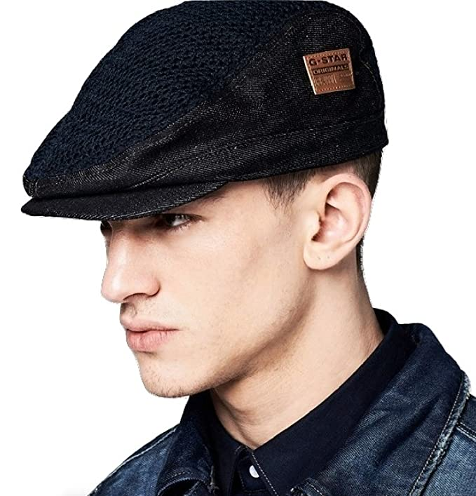 G Star RAW Davis Flat Cap in Raw Devis Denim 53e676628c7