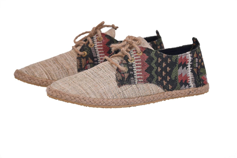 virblatt Chaussures Chanvre Espadrille en Chanvre Homme Chaussures – Barfuß Bunt